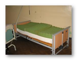 łóżko elektryczne