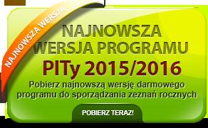 Program PITy TaxMachine 2015/2016 - kliknij aby pobrać